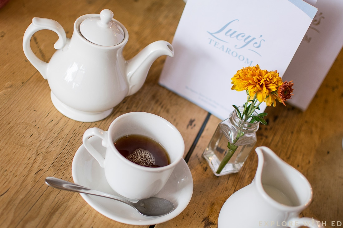 Cotswolds Cream Tea, Lucy's Tea Room, Stow-on-the-Wold