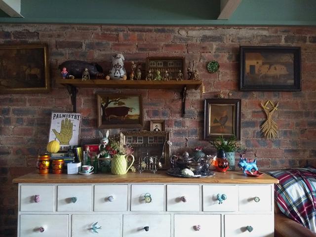 eclectic shelfie