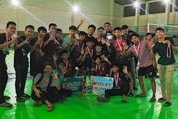Tabe FC Raih Juara 3 Turnamen Futsal di Palopo