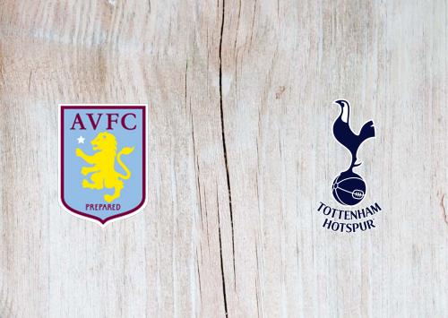 Aston Villa vs Tottenham Hotspur -Highlights 16 February 2020