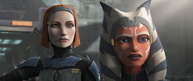 Ahsoka Tano and Bo-Katan on Mandalore Star Wars The Clone Wars