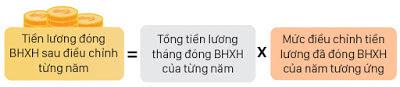 Dieu chinh thu nhap dong BHXH