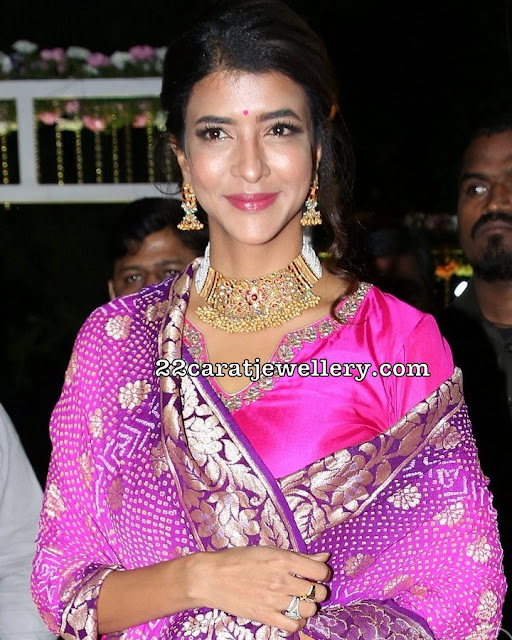Lakshmi Manchu at Archana Wedding Reception