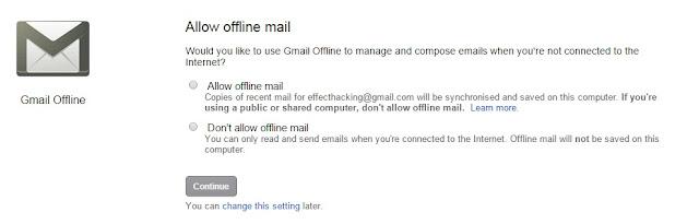 extension gmail offline