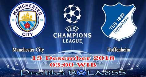 Prediksi Bola855 Manchester City vs Hoffenheim 13 Desember 2018