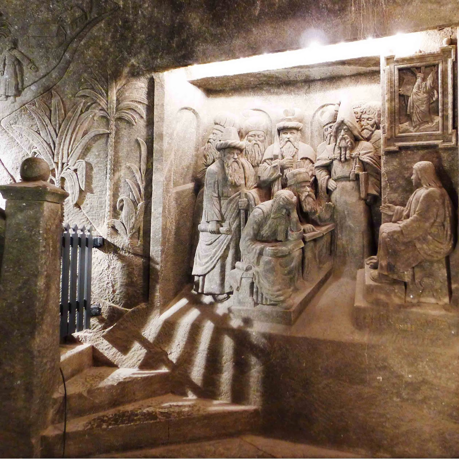 Wieliczka Salt Mine Jesus Before the Elders