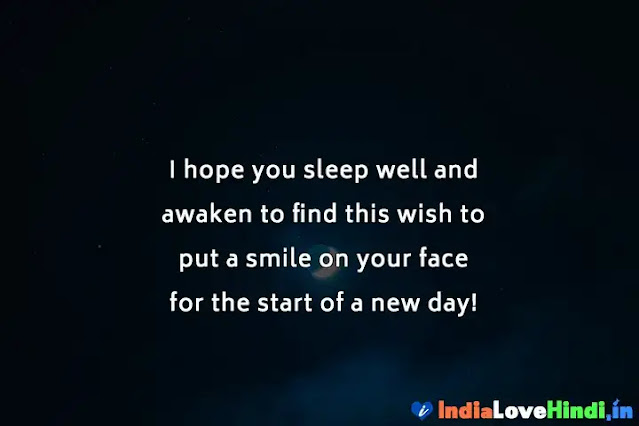 good night messages for love crush