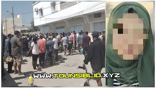 (بالصور) فظــيــع العثور على جثة هيفاء الضفلاوي الـ 27 سنة مذبوحة في محل خياطة بالقرب من مركز شرطة ..