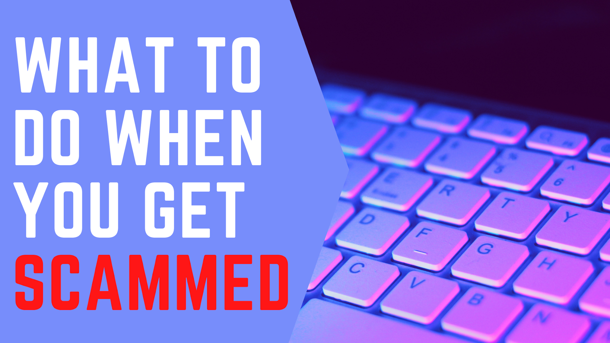 What to do when you get scammed online in india