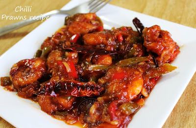 an yummy party dish with prawns chinese recipe spicy sweet and appetizing recipe Ayeshas kitchen tasty food