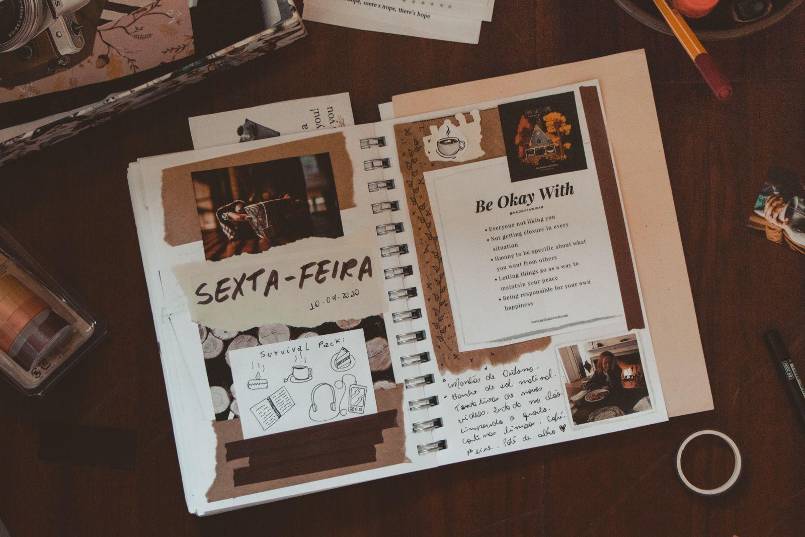 Minha história com art journaling capa