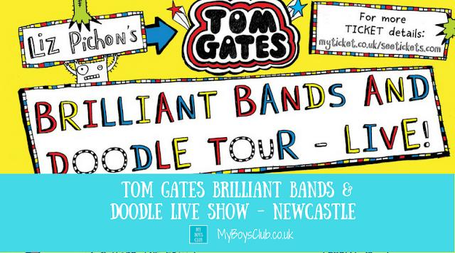 Tom Gates Brilliant Bands & Doodle Live Show Comes to Newcastle
