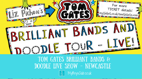 Tom Gates Brilliant Bands & Doodle Live Show Comes to Newcastle (PREVIEW)