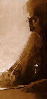 Meister Eckhart by Marion Miller (philosopher-painter)