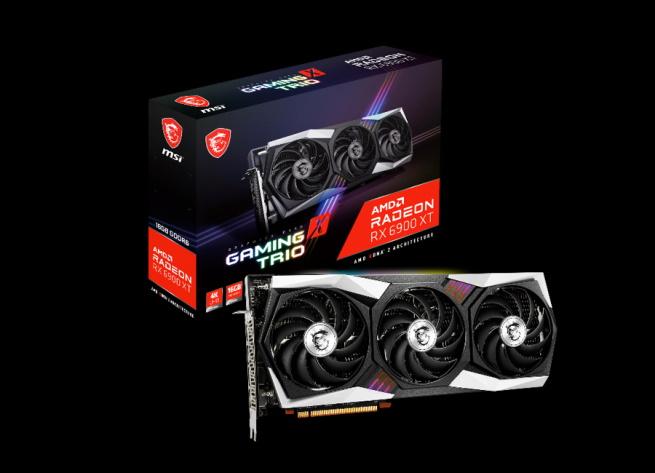 MSI Radeon RX 6900 XT Gaming X Trio OC