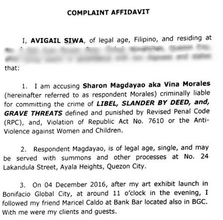 Vina Morales In Danger of Being Jailed After Avi Siwa Files Several Cases Against Her Because of This!
