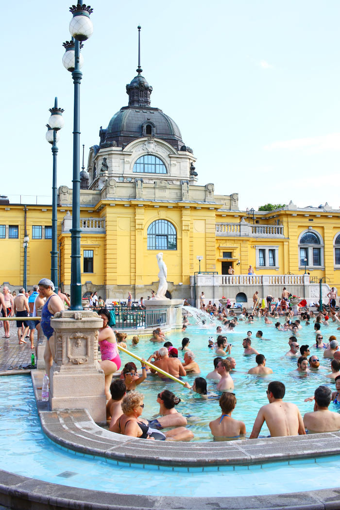 Szechenyi baths, Budapest, thermal bath