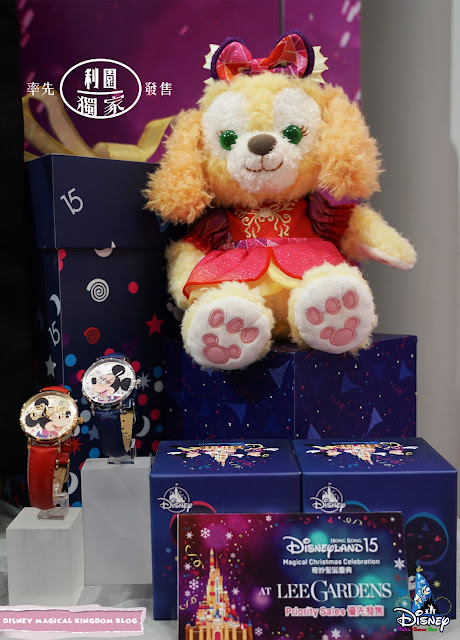 利園區香港迪士尼樂園15周年奇妙聖誕慶典 AT LEE GARDENS Magical Christmas 米奇及米妮腕錶 CookieAnn