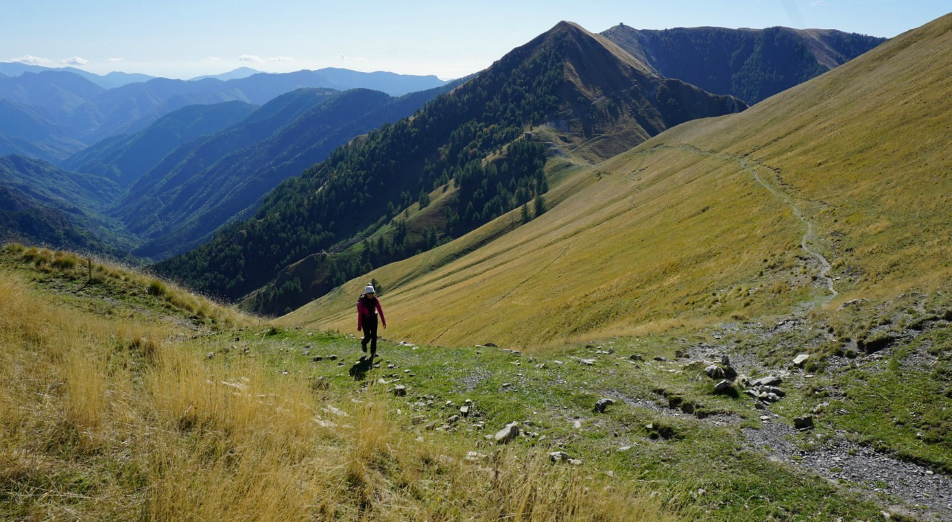 Towards Col de Raus