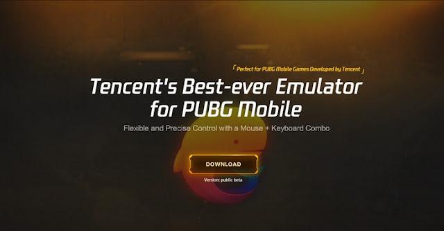 emulator khusus untuk main PUBG Mobile