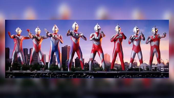 Ultraman e Ultraseven juntos
