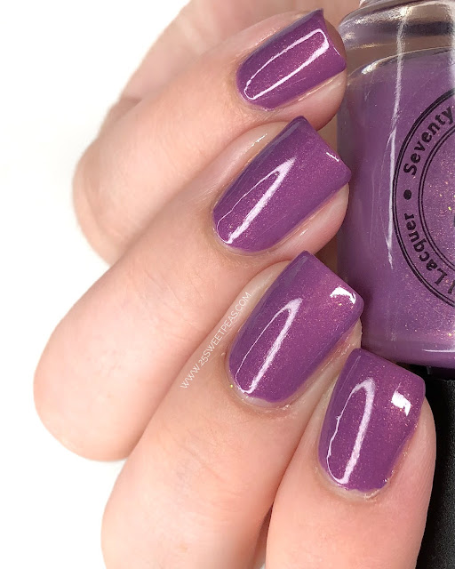 Seventy Seven Nail Lacquer What Happens in Vegas 25 Sweetpeas