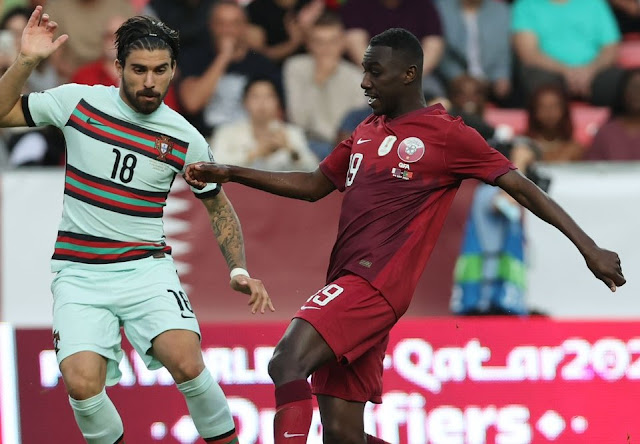 ملخص اهداف مباراة البرتغال وقطر (3-1) تصفيات كاس العالم