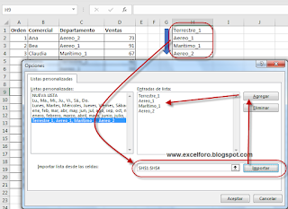 Orden Personalizado en Excel