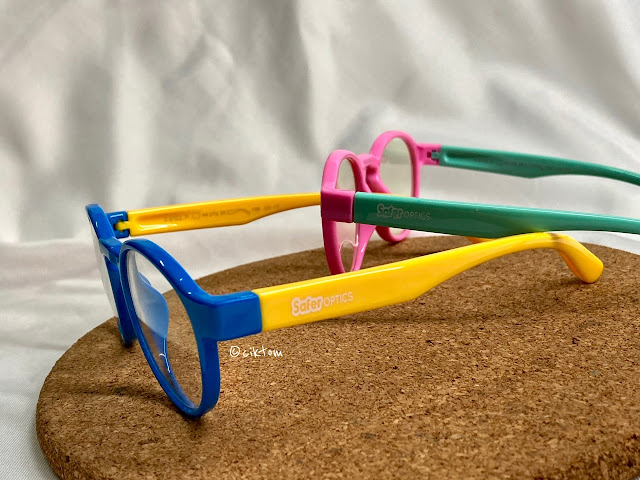 SaferOptics colourful eyewear for kids