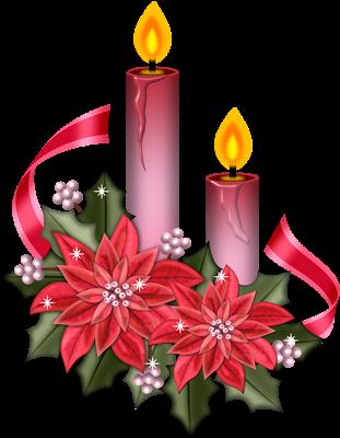 Moldes Para Imprimir Velas De Natal E Ano Novo Em Imagens Png