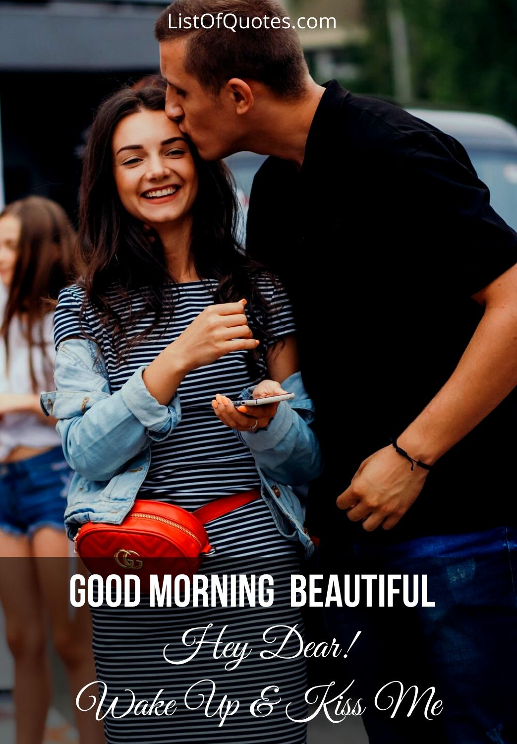 Romantic Good Morning Kiss Images For Him/Her girlfriend boyfriend