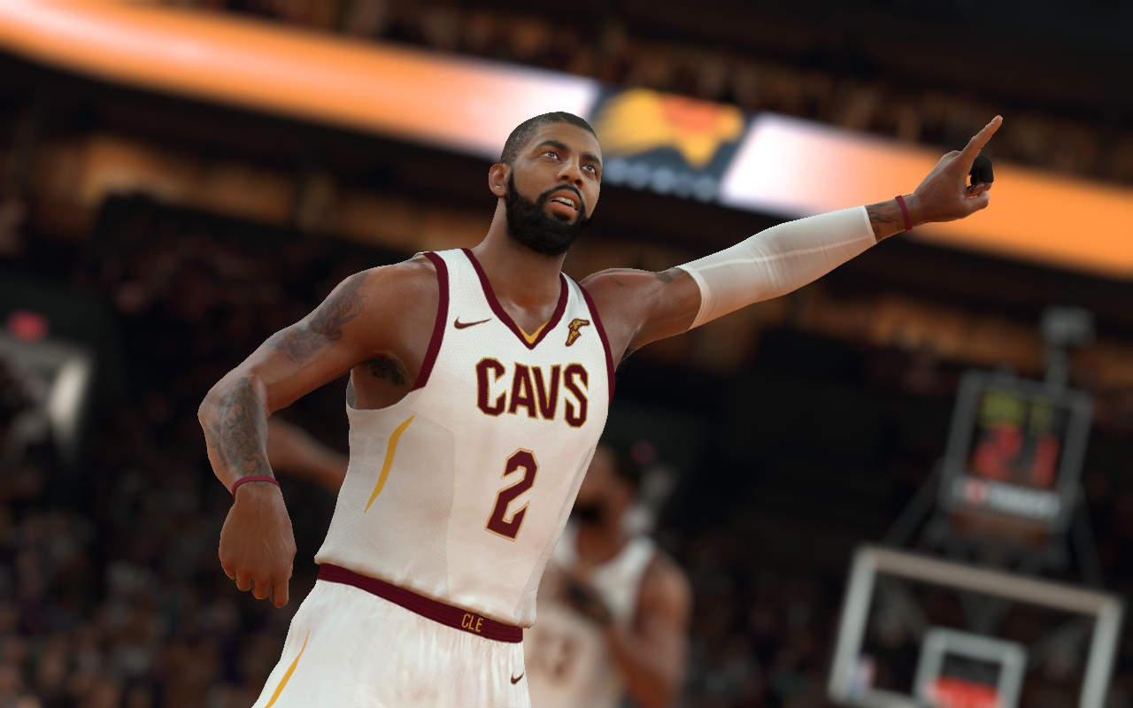 DNA Of Basketball | DNAOBB: NBA 2K17 CAVS Home Jersey 2017-2018 by Shuajota & Edudu_10