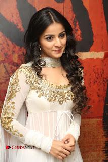 Telugu Actress Mahima Makwana Stills in White Desginer Dress at Venkatapuram Movie Logo Launch  0047.JPG