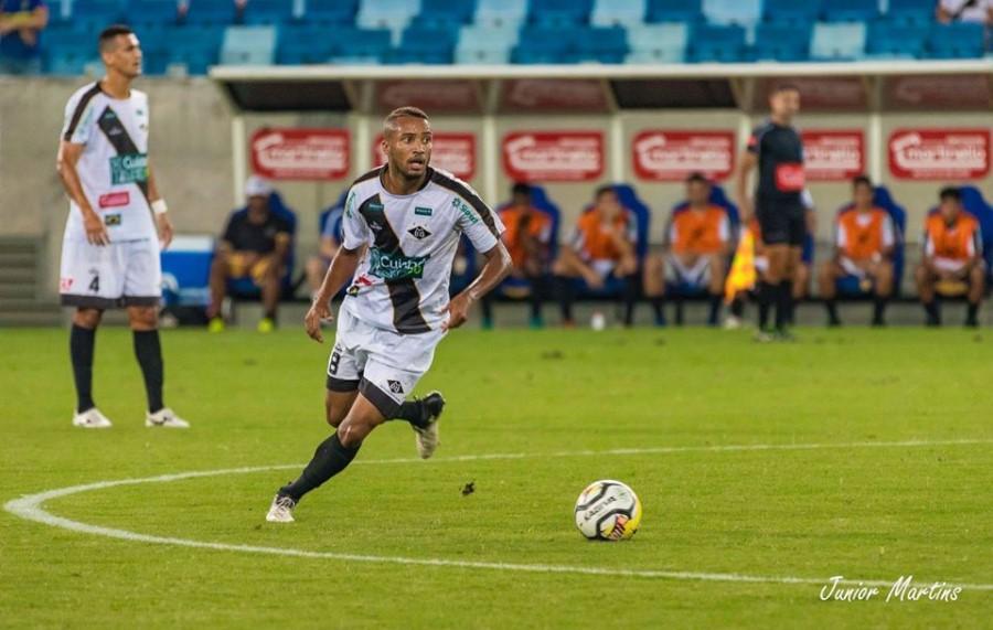 Arthur disputou o Mato-grossense e a Copa do Brasil pelo Mixto em 2019 - Junior Martins