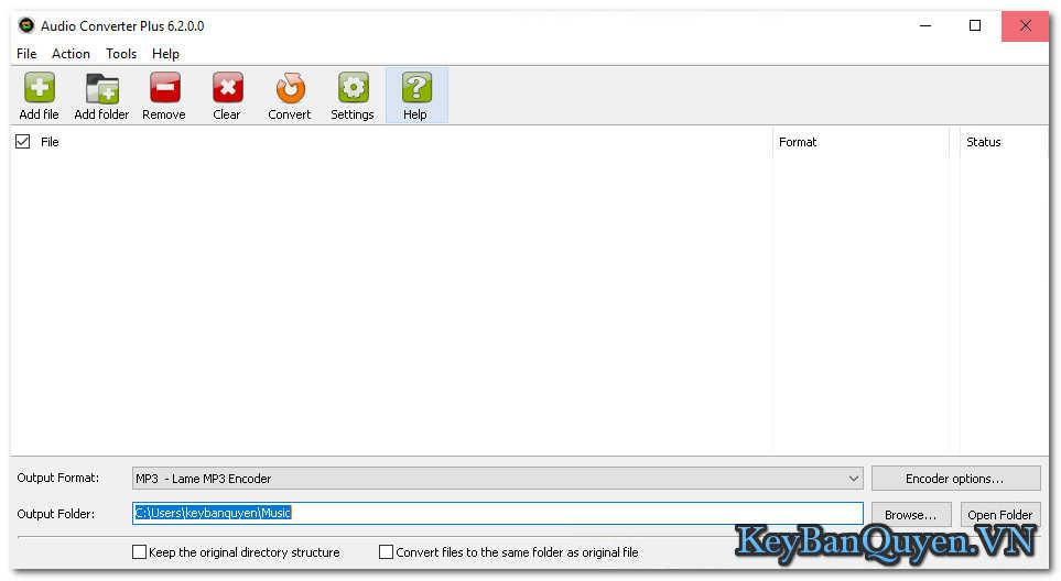 Download Abyssmedia Audio Converter Plus 6.2.0.0 Full Key Serial , Phần mềm chuyển đổi âm thanh đa thiết bị.