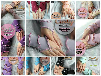 agen Handsock/Manset Curly