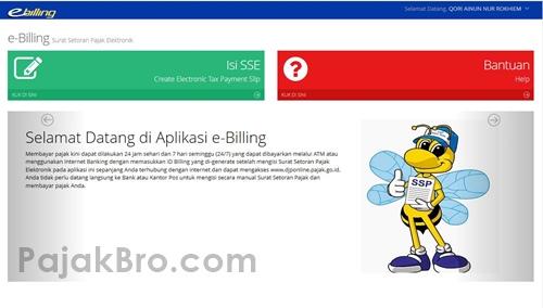 e Billing Pajak Online