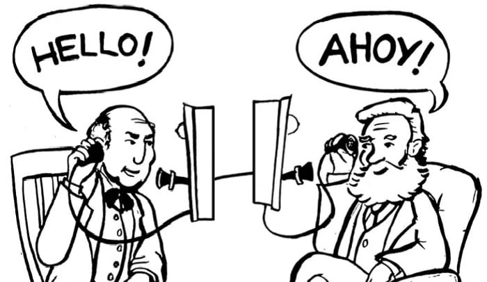 """Why Do We Say """"Hello"""" While Answering A Phone Call? A Short History Of 'Hello'..."""