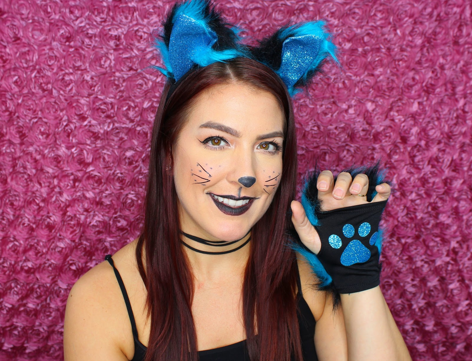 Leopard Lace And Cheesecake Budget Friendly Halloween Easy Cat - Cat-costume-makeup