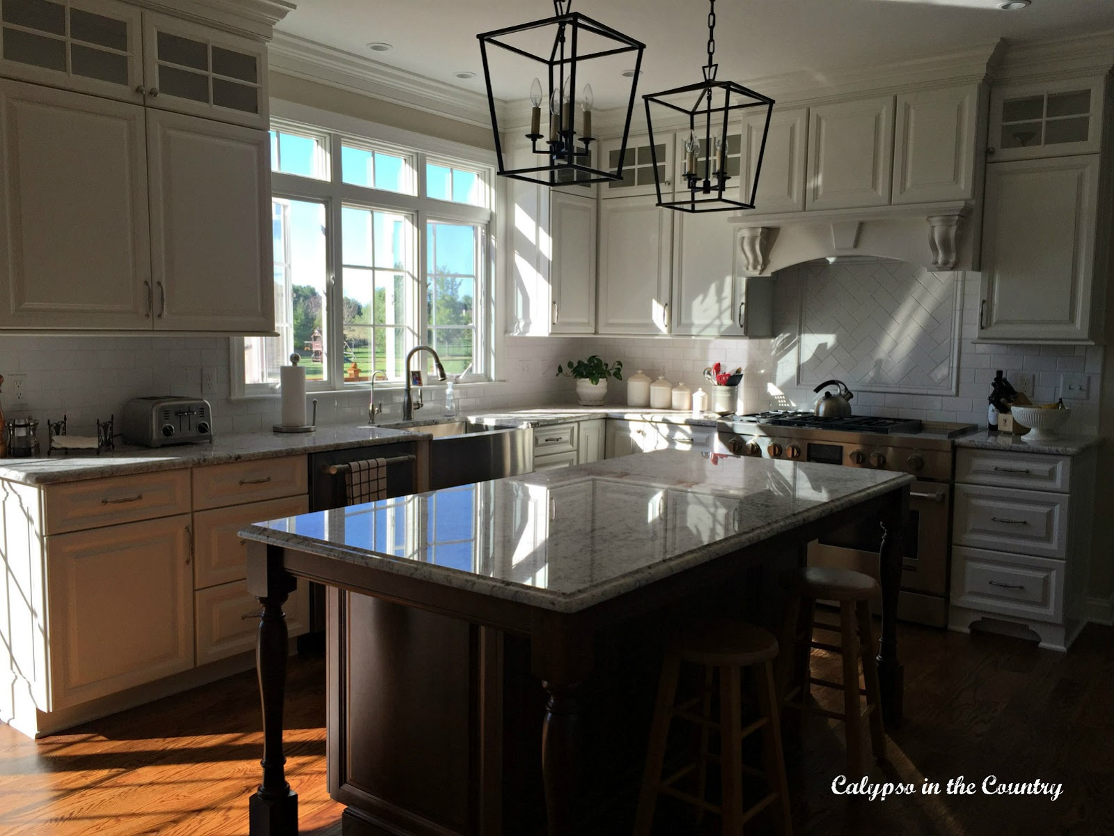 White Kitchen Reveal