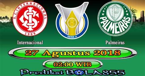 Prediksi Bola855 Internacional vs Palmeiras 27 Agustus 2018