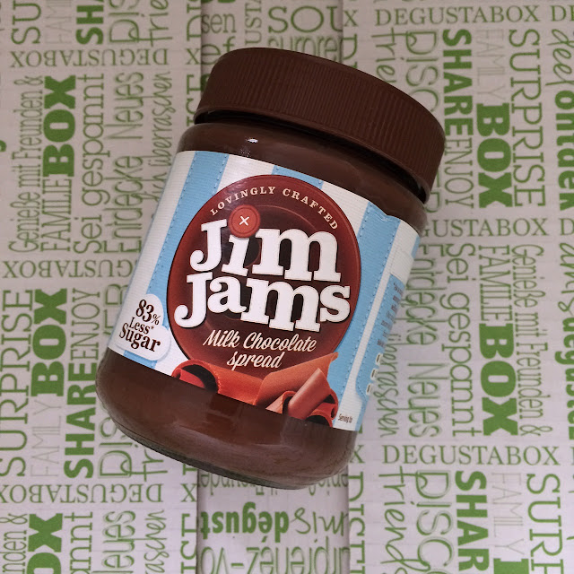 Jim jams chocolate spread