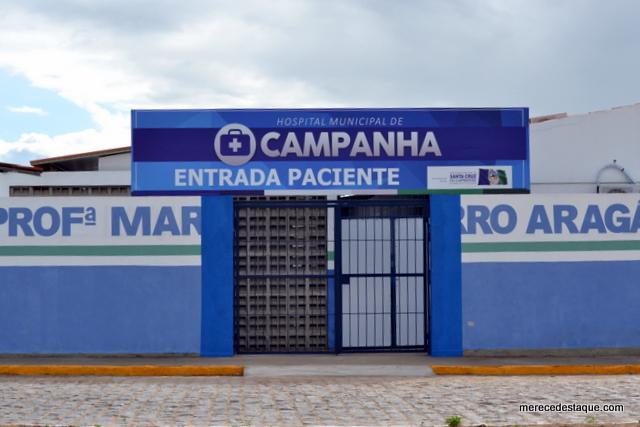 Prefeitura de Santa Cruz paga R$ 900 mil por mês só de salários a funcionários do hospital de campanha