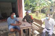 Pelda Surpantudi Beri Himbauan Tetap Terapkan Disiplin Protokol Kesehatan Di Wilayah Desa Binaan
