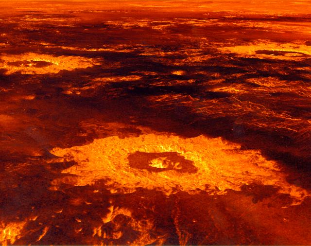 La hirviente atmósfera de Venus