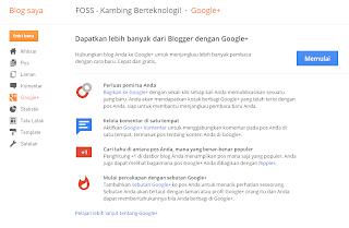 Mengenal Menu Fungsi Pada Blogspot (Blogger)