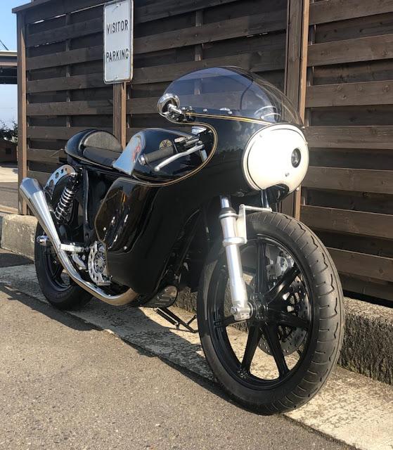 Yamaha SR400 By Berry Bads Hell Kustom