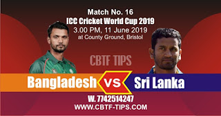 World Cup 2019 Match Prediction Tips by Experts BAN vs SL