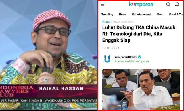 "MENGEJUTKAN! Babe Haikal Hasan Ungkap ""Keahlian"" TKA Yang Tidak Dimiliki Pekerja Lokal"