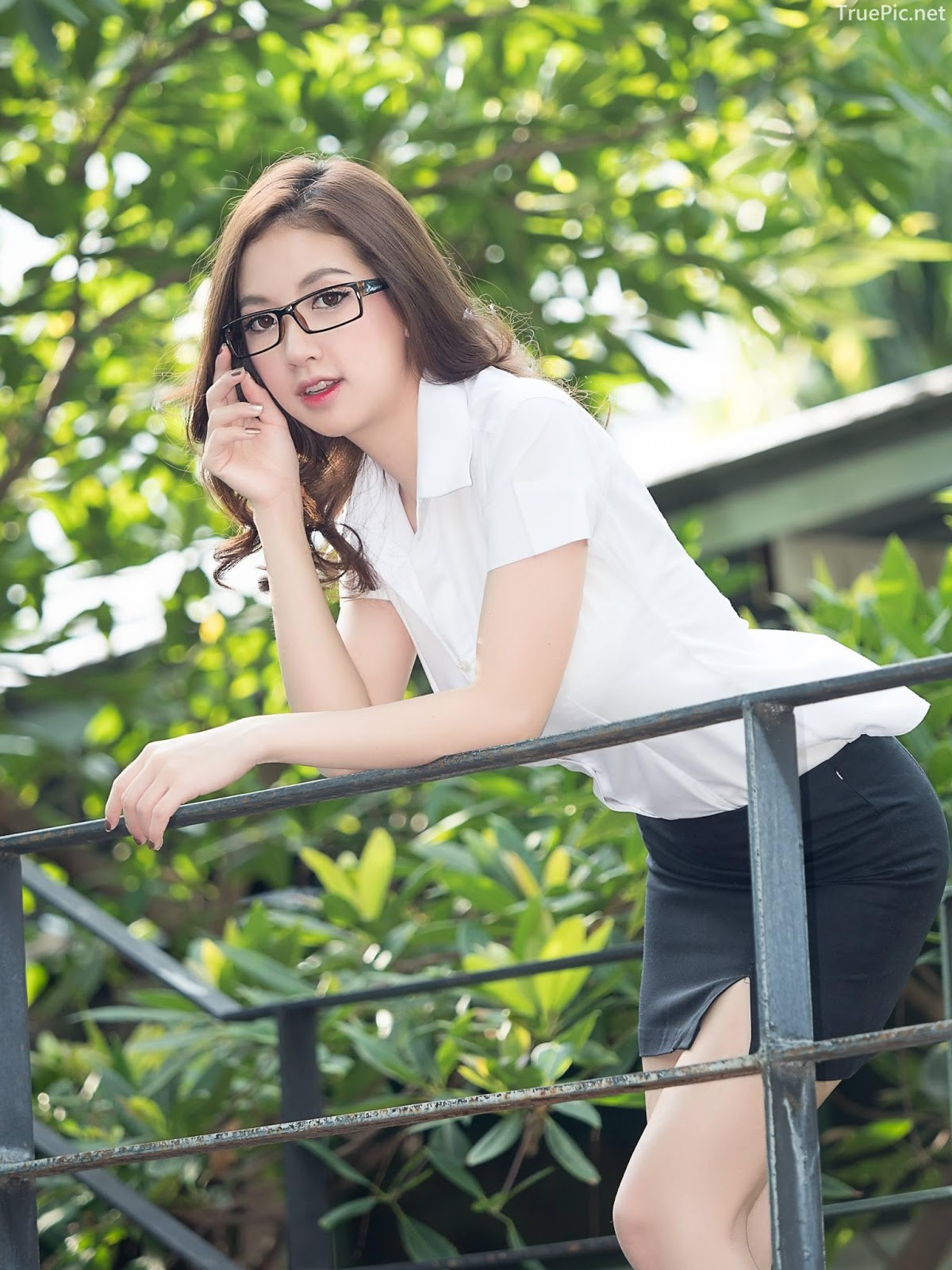 Thailand model - Yingaon Duangporn - Concept The Beautiful Office Girl - Picture 2